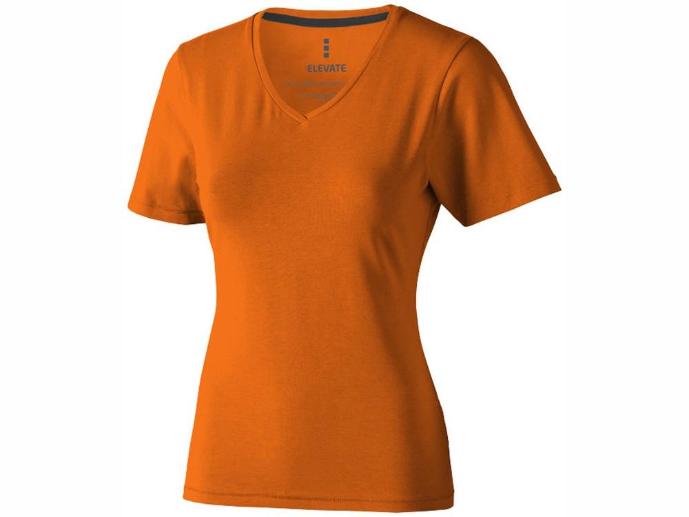 Футболка Kawartha женская с V-образным вырезом, оранжевый