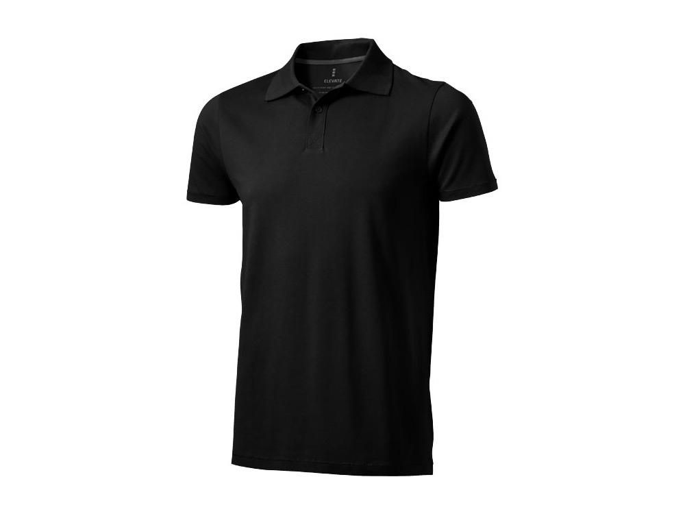 Рубашка поло Seller мужская, черный