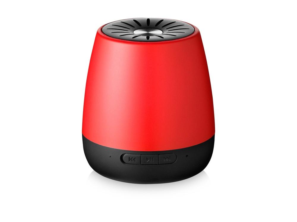 Колонка Padme Bluetooth®, красный/черный