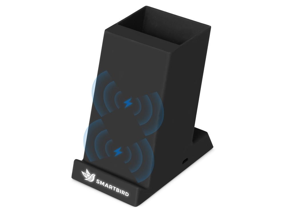 Беспроводная зарядка-подставка с подсветкой Glow box