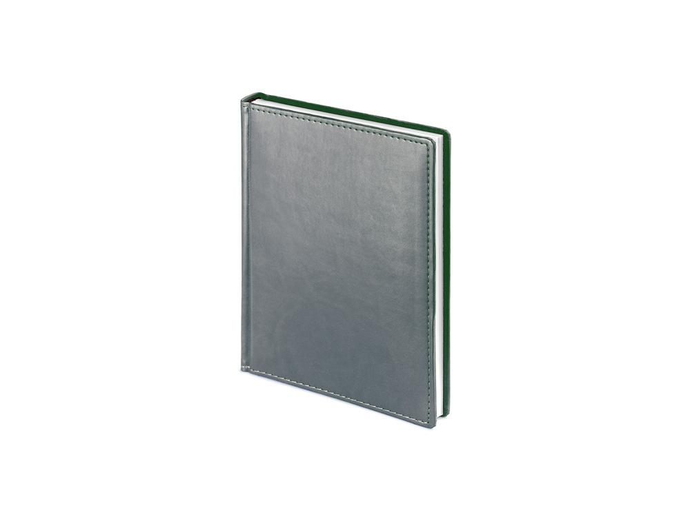 Ежедневник недатированный А6+ Velvet, серый