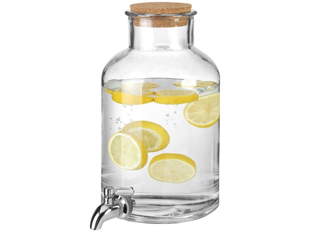 Диспенсер для напитков Luton объемом  5 литров,  прозрачный