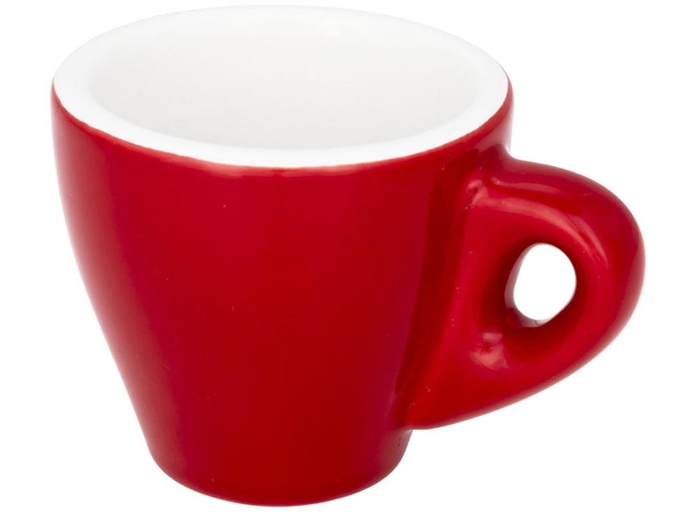 Цветная кружка для эспрессо Perk, красный