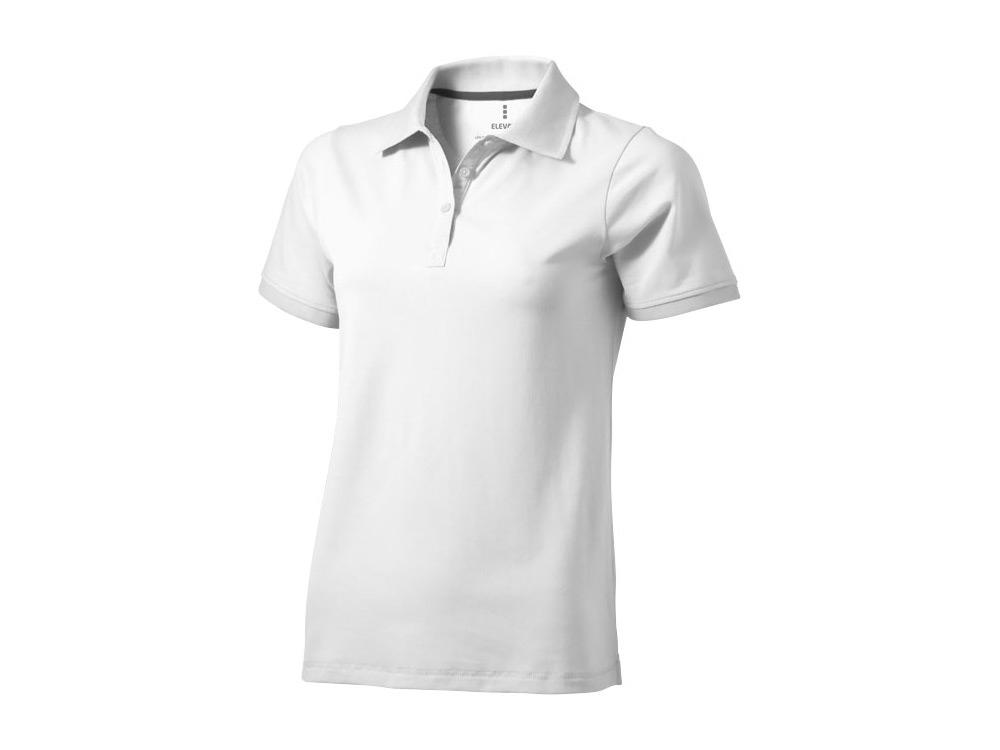 Рубашка поло Yukon женская, белый
