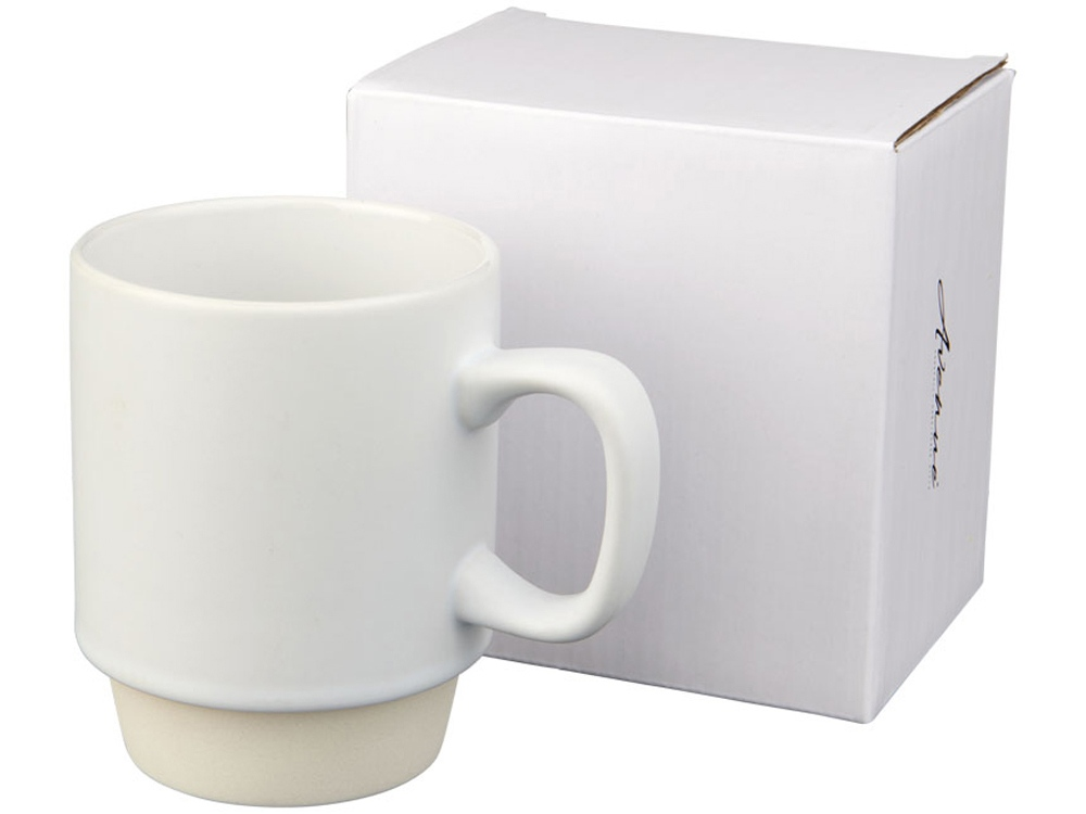 Керамическая кружка Arthur, 420мл, белый