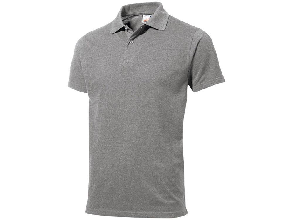Рубашка поло First мужская, серый