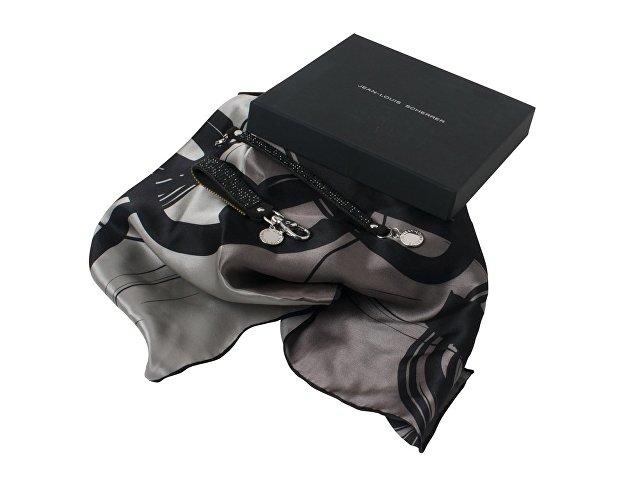 Набор: брелок, шелковый платок, браслет
