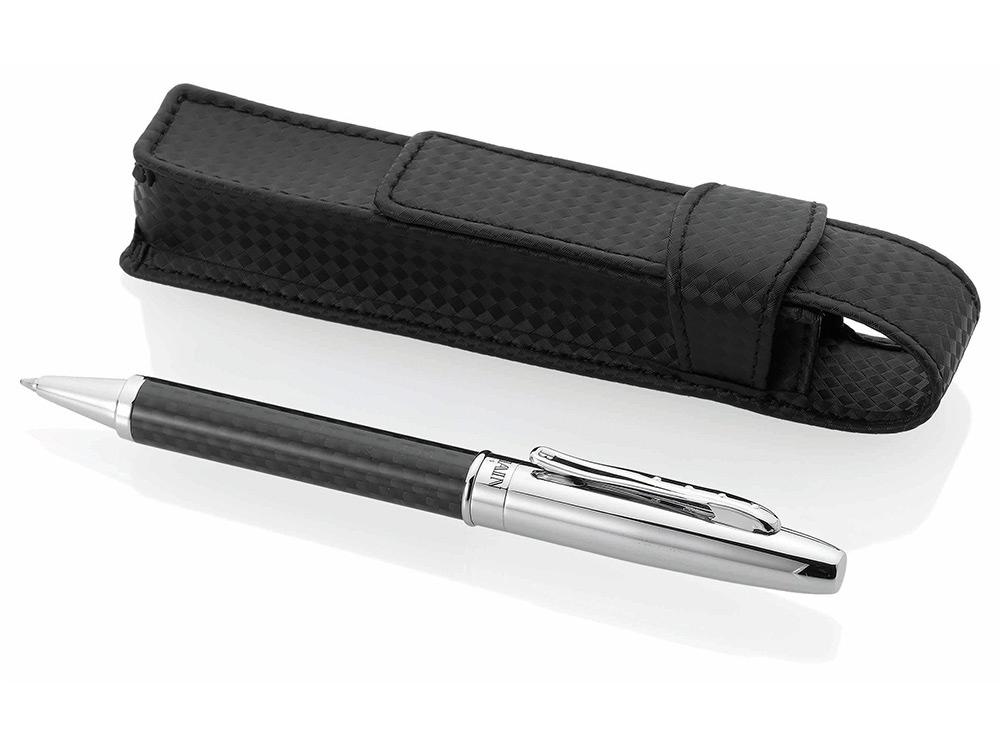 Ручка шариковая Cap Ferret в чехле, черные чернила