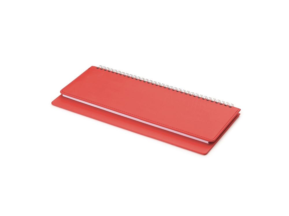 Планинг недатированный  Velvet красный
