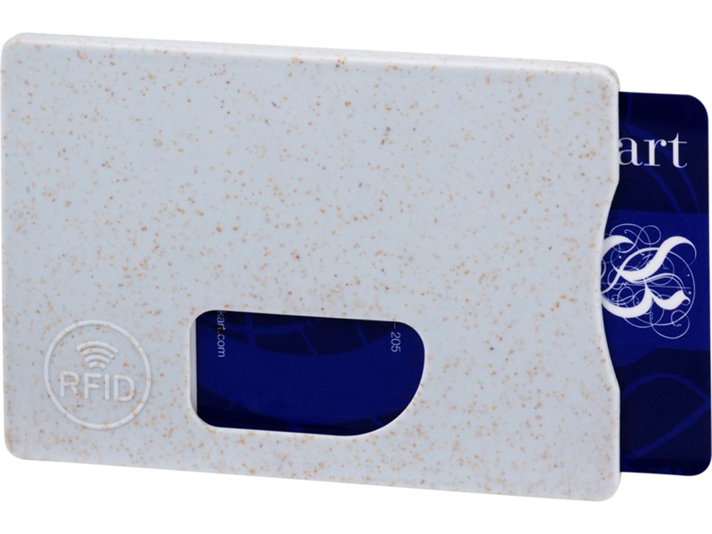 Чехол для карт RFID Straw, серый