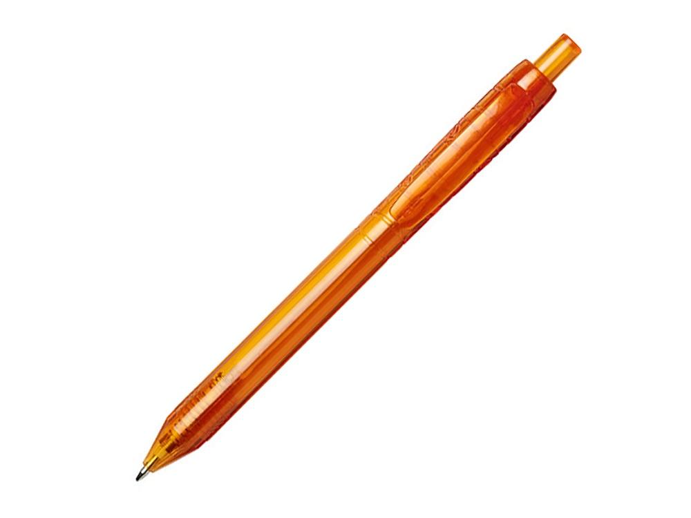 Ручка шариковая Vancouver, оранжевый прозрачный