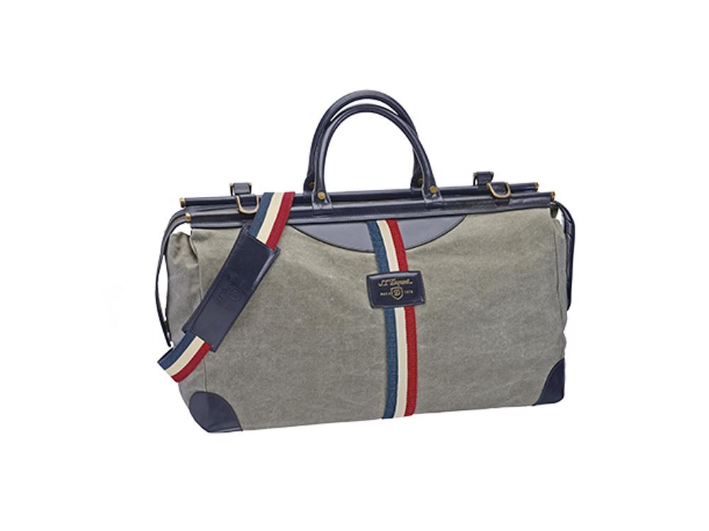 Сумка дорожная на молнии Cosie Bag, серый/синий