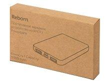 Внешний аккумулятор из rPET «Reborn», 5000 mAh (арт. 5910938), фото 10