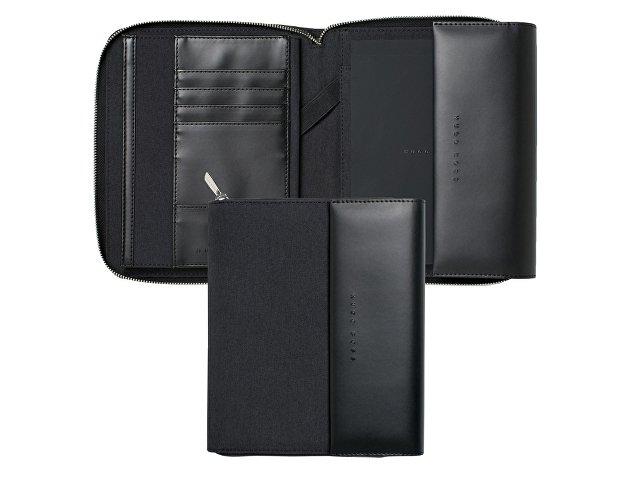 Папка для конференции А5 Advance Fabric Dark Grey