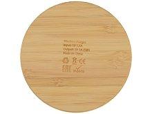 Беспроводное зарядное устройство из бамбука «Cap» (арт. 392428), фото 4