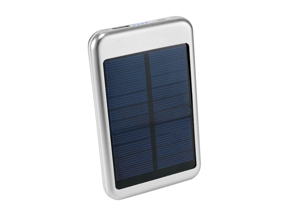 Портативное зарядное устройство PB-4000 Bask Solar, серебристый
