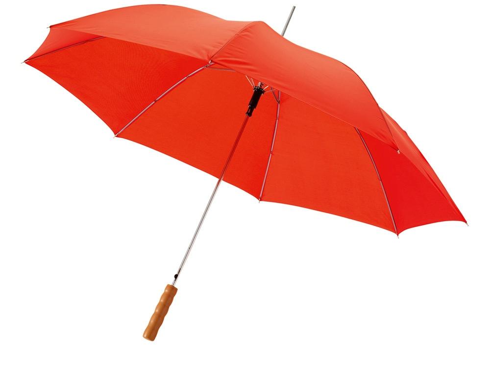 Зонт-трость Lisa полуавтомат 23, красный