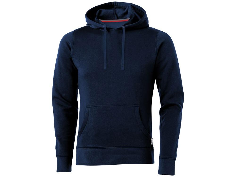 Толстовка Alley мужская с капюшоном, темно-синий