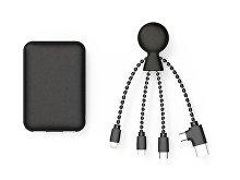 Портативное зарядное устройство «BioPack» c кабелем «Mr. Bio», 5000 mAh (арт. 965112)