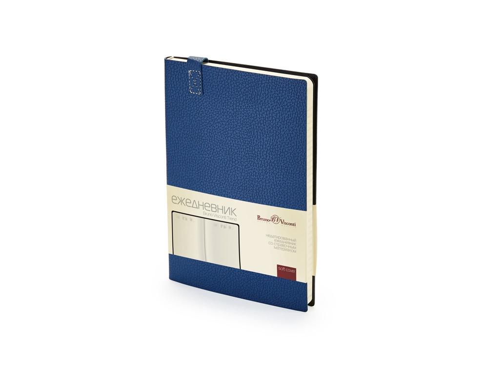 Ежедневник А5 недатированный Trend, темно-синий