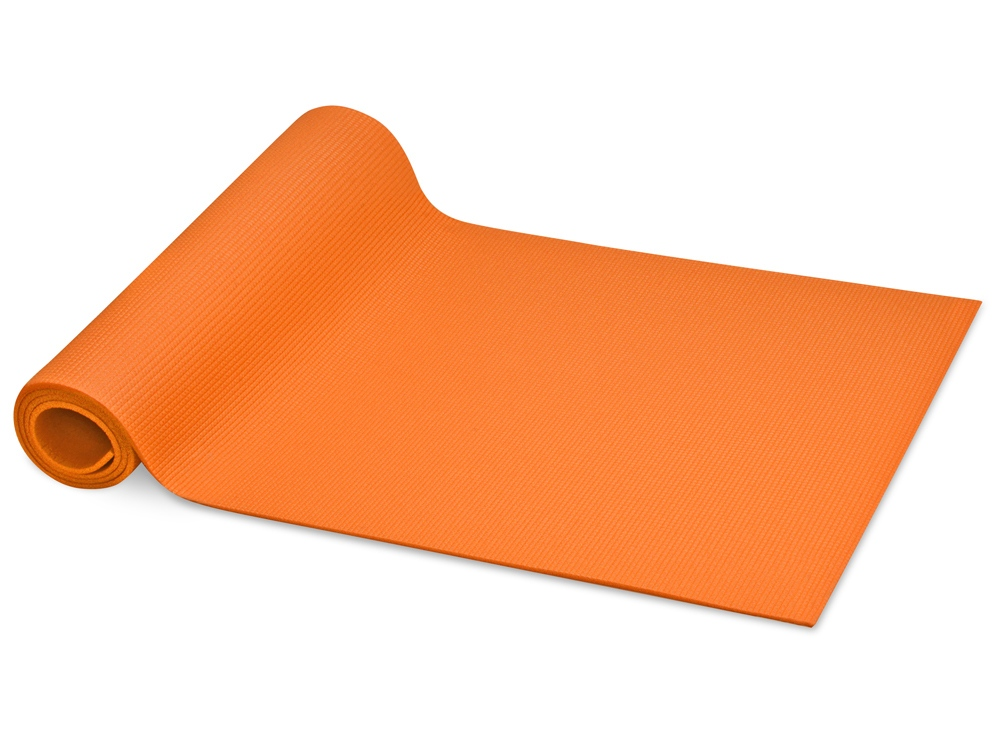 Коврик Cobra для фитнеса и йоги, оранжевый