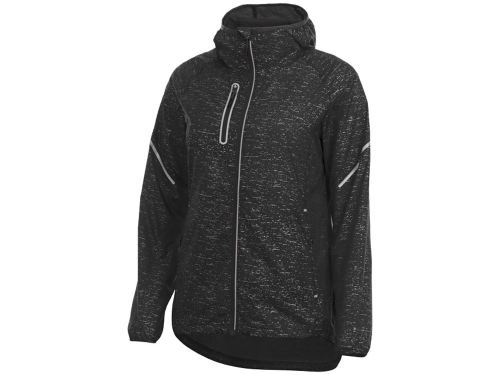 Куртка складная светоотражающая Signal женская, черный