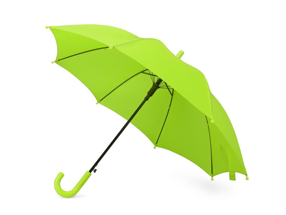 Зонт-трость Edison, полуавтомат, детский, зеленое яблоко