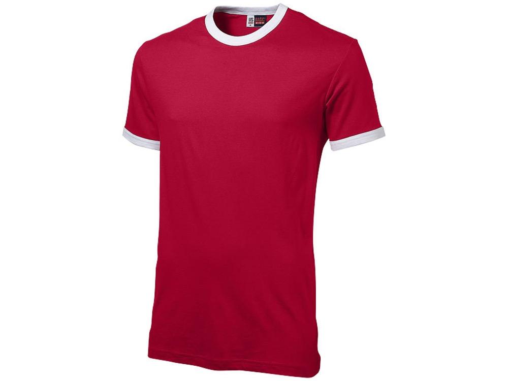 Футболка Adelaide мужская, красный/белый
