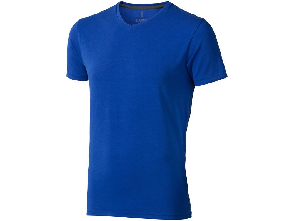 Футболка Kawartha мужская с V-образным вырезом, синий