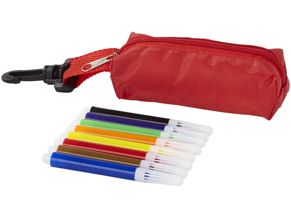 Набор маркеров 8 единиц, красный