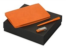 Подарочный набор «Notepeno» с блокнотом А5, флешкой и ручкой (арт. 700415.08)