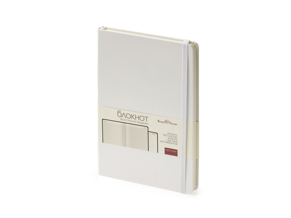 Блокнот А5 Megapolis Journal, белый