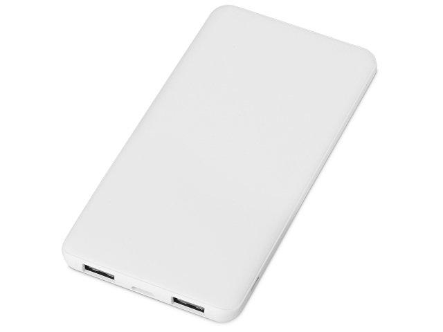 Портативное зарядное устройство «Reserve» с USB Type-C, 5000 mAh, белый