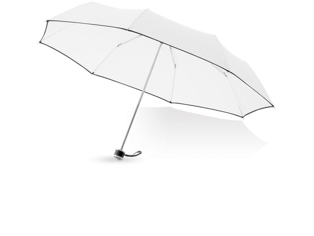Зонт складной Линц, механический 21, белый