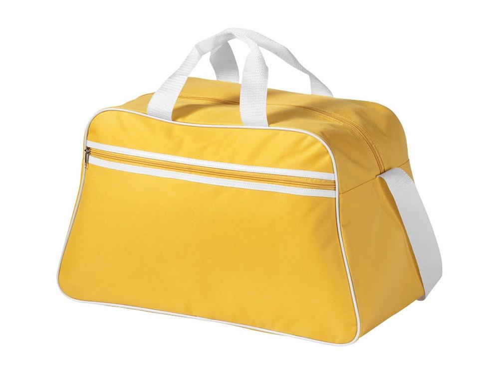 Сумка спортивная San Jose, желтый