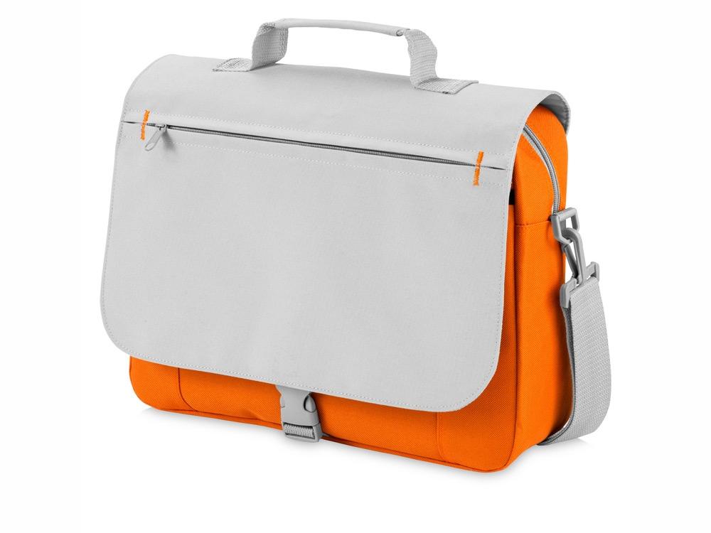 Сумка для документов Pittsburgh, оранжевый/серый
