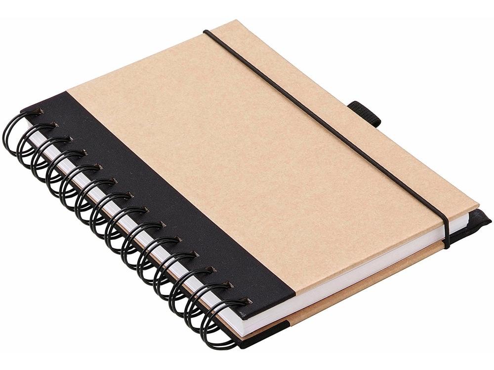 Блокнот А6 Evolution, коричневый