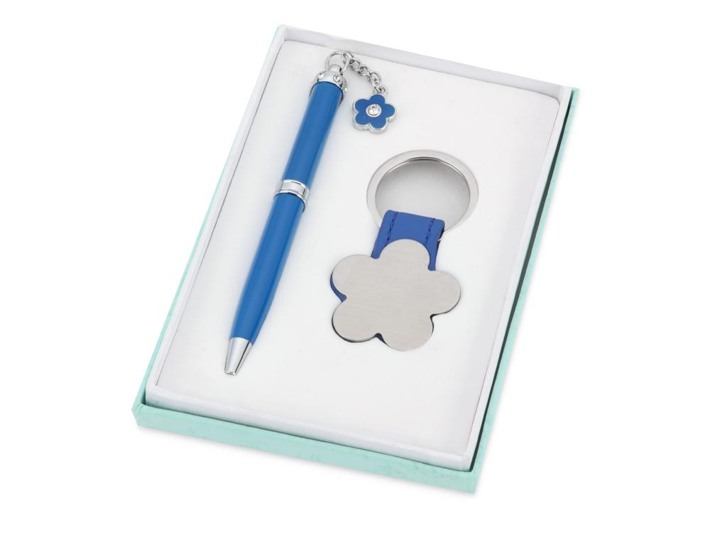 Набор: шариковая ручка, брелок Цветок