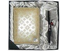 Набор: ручка шариковая, обложка для паспорта (арт. 411139)
