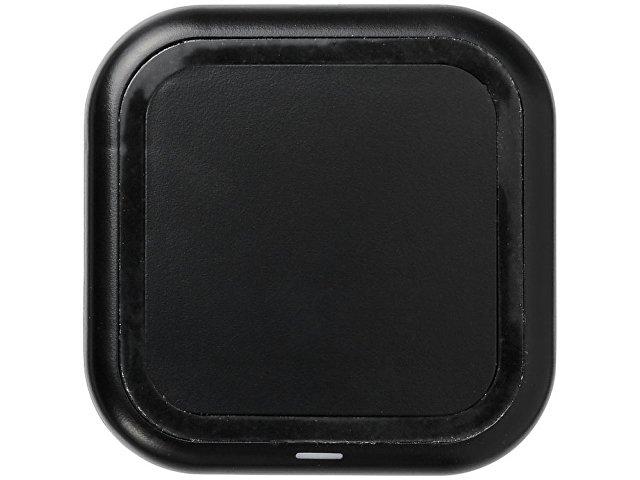 Беспроводная зарядка Radiant со светящимся логотипом, черный