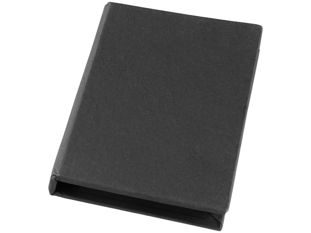 Небольшой комбинированный блокнот, черный