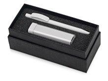 Подарочный набор White top с ручкой и зарядным устройством (арт. 700302.06), фото 2