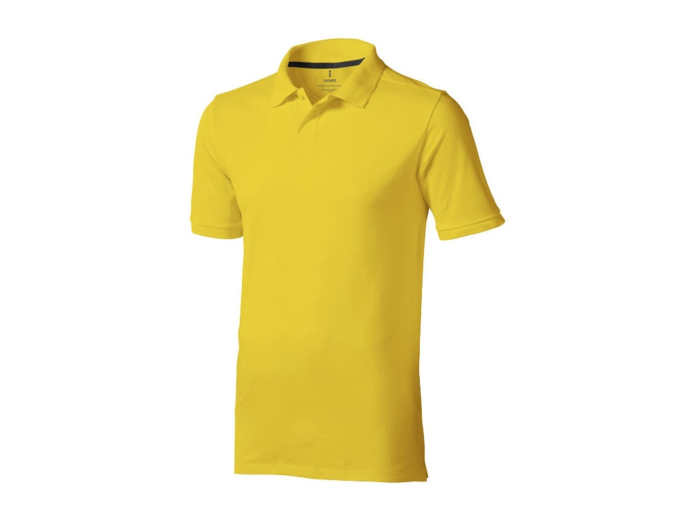 Рубашка поло Calgary мужская, желтый