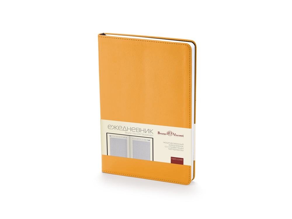 Ежедневник недатированный А5 Stockholm, оранжевый