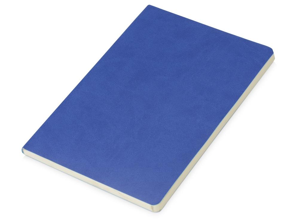 Блокнот Wispy линованный в мягкой обложке, синий