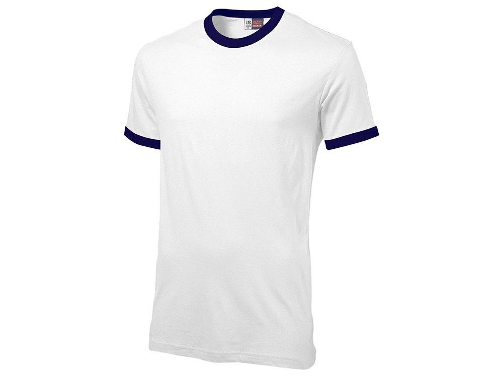 Футболка Adelaide мужская, белый/темно-синий