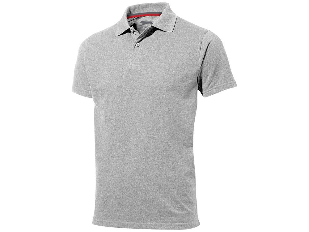 Рубашка поло Advantage мужская, серый меланж