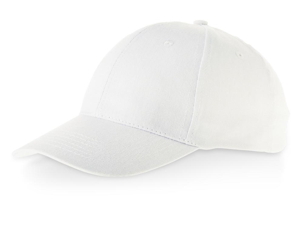 Бейсболка Detroit 6-ти панельная, белый