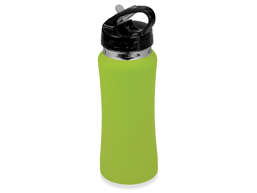 Бутылка спортивная Коста-Рика 600мл, зеленое яблоко