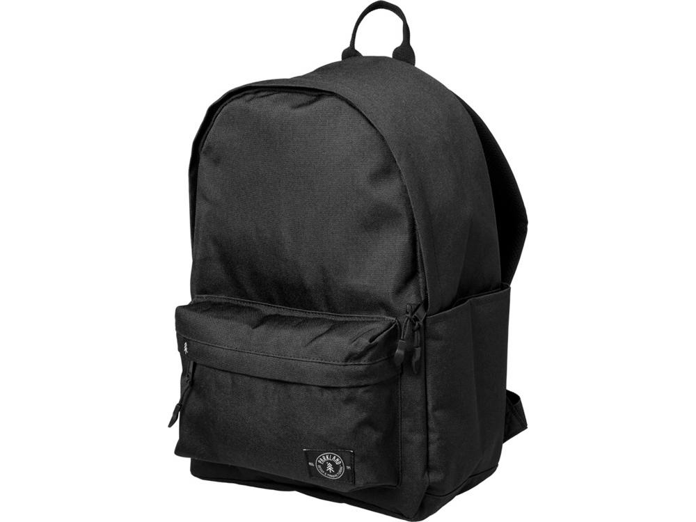 Рюкзак Vintage для ноутбука 13 из переработанных материалов, черный